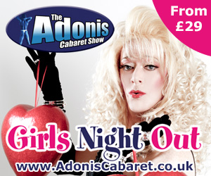 Adonis Cabaret Girls Night Out