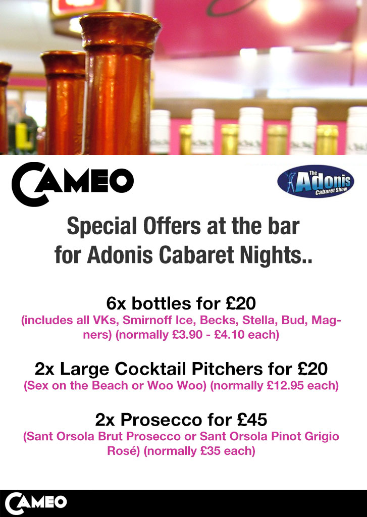 cameo bournemouth hen offer