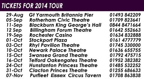 Tour Dates