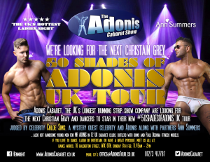 50 Shades Adonis UK Tour 2